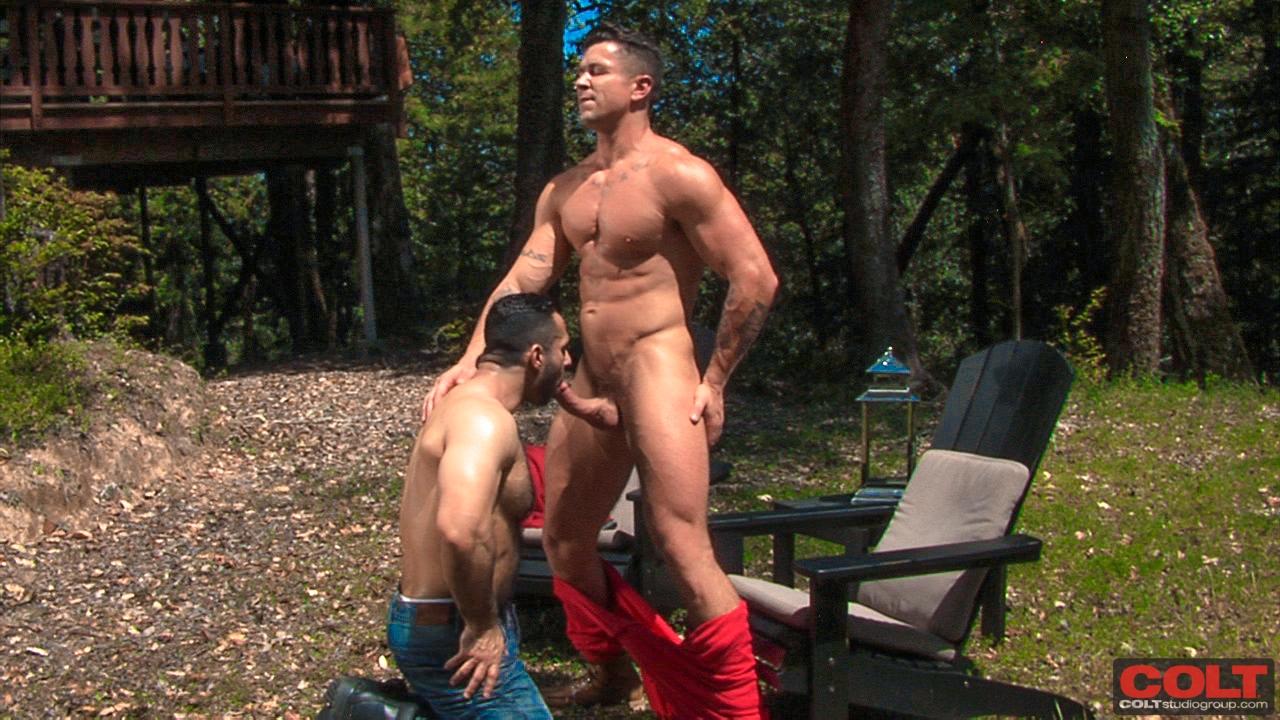 Adam Champ Gay Porn adam champ and trenton ducati outdoor sex